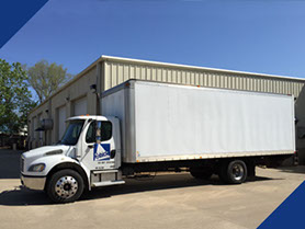 Fabick's mobile unit is fully equipped for on-site demos and application of many of our products.